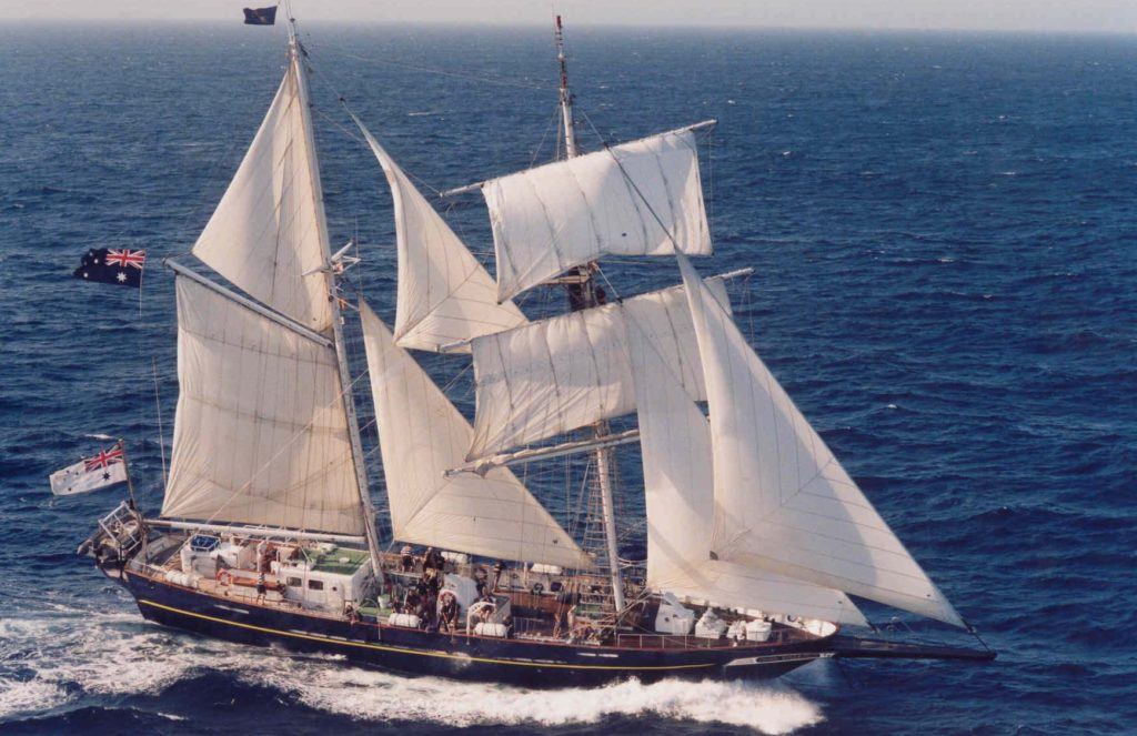 Young Endeavour Tall Ship